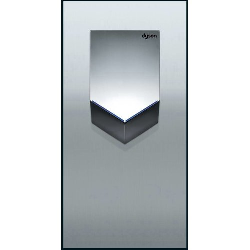 Dyson Airblade V wall plate, stainless steel