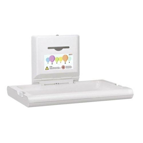Mediclinics Baby changing table horizontal white