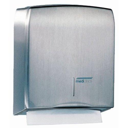 Mediclinics Håndklæde dispenser rustfrit stål
