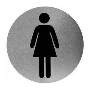 Mediclinics Pictogram women's toilet