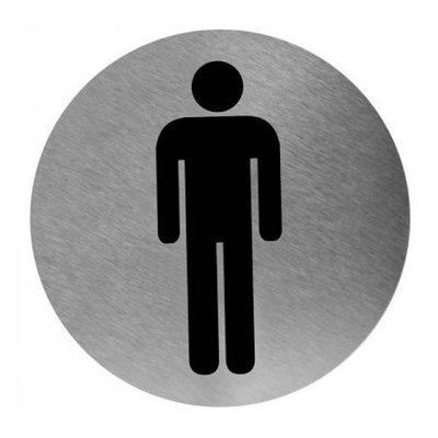 Mediclinics Pictogram men's toilet