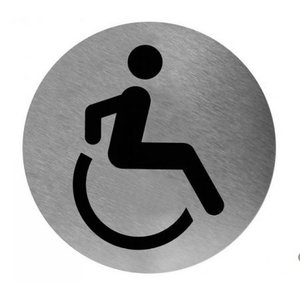Mediclinics Piktogram deaktiveret toilet
