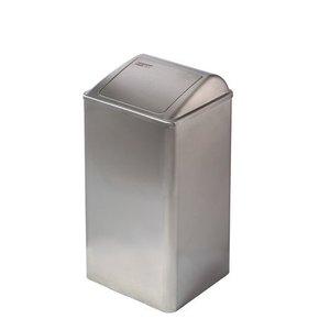 Mediclinics Affald bin lukket 65 liter rustfrit stål