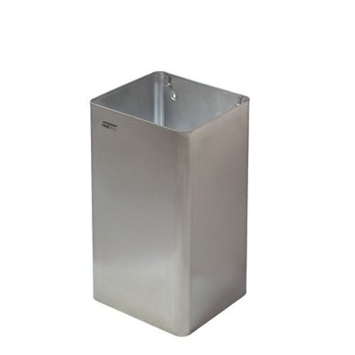 Mediclinics Waste bin open 65 liters stainless steel