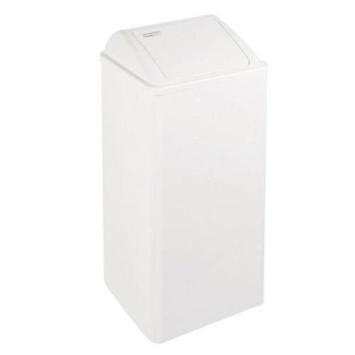 Mediclinics Poubelle 80 litres fermŽ blanc