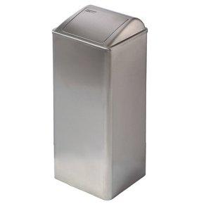 Mediclinics Affald bin lukket 80 liter rustfrit stål
