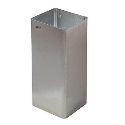 Mediclinics Waste bin open 80 liters stainless steel