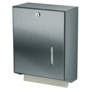 MediQo-Line Handduk dispenser rostfritt stål stor