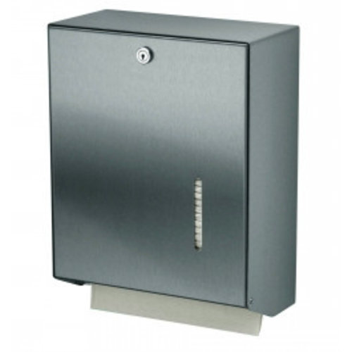 MediQo-Line Hand towel dispenser stainless steel large