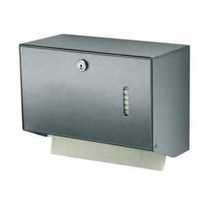 MediQo-Line Handduksautomat rostfritt stål liten