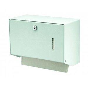 MediQo-Line Håndklædedispenseren hvid lille