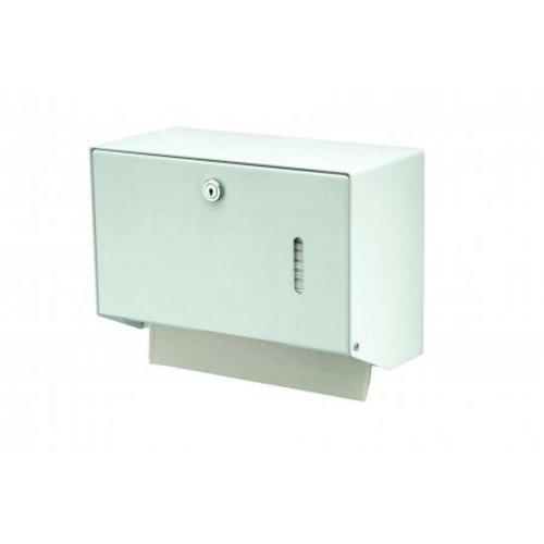 MediQo-Line Handduk dispenser vit liten
