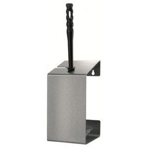 MediQo-Line Toalettborsthållare av rostfritt stål