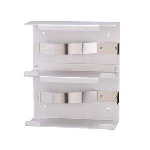 MediQo-Line Handske dispenser duo aluminium