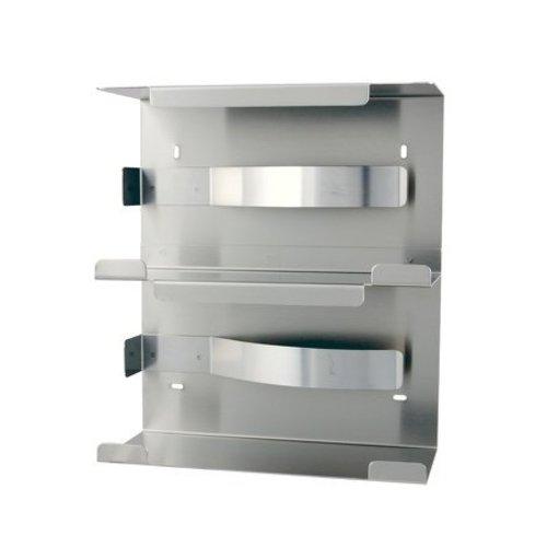 MediQo-Line Handske dispenser duo rustfrit stål