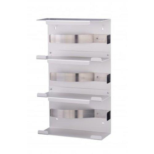 MediQo-Line Handske dispenser trio aluminium