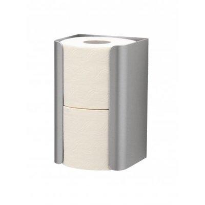 MediQo-Line Spare roll holder duo aluminum