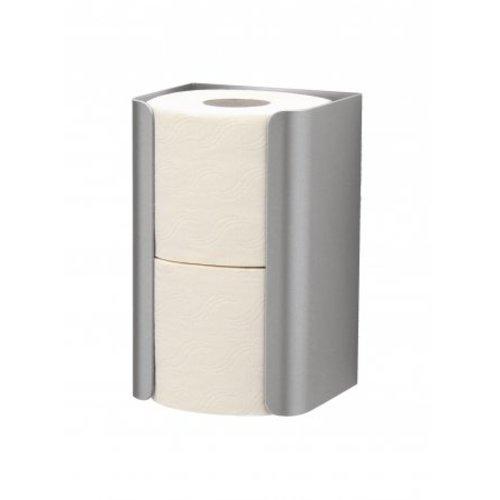 MediQo-Line De rechange en acier inoxydable porte-rouleau de papier toilette