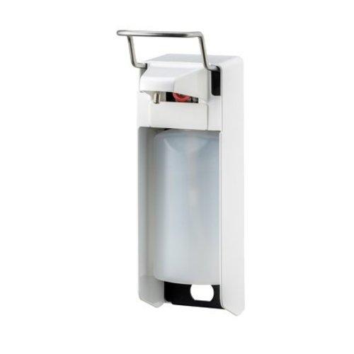 MediQo-Line Savon et distributeur de dŽsinfectant 500 ml KB blanc