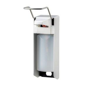 MediQo-Line Tvål och desinfektionsmedel dispenser 500 ml LB-aluminium