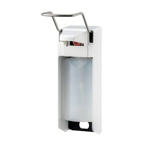 MediQo-Line Tvål och desinfektionsmedel dispenser 500 ml LB-vit