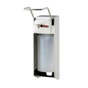 MediQo-Line Tvål och desinfektionsmedel dispenser 500 ml LB-rostfritt stål