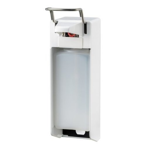 MediQo-Line Savon et distributeur de dŽsinfectant 1000 ml blanc KB