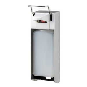 MediQo-Line Tvål och desinfektionsmedel dispenser 1000 ml KB rostfritt stål