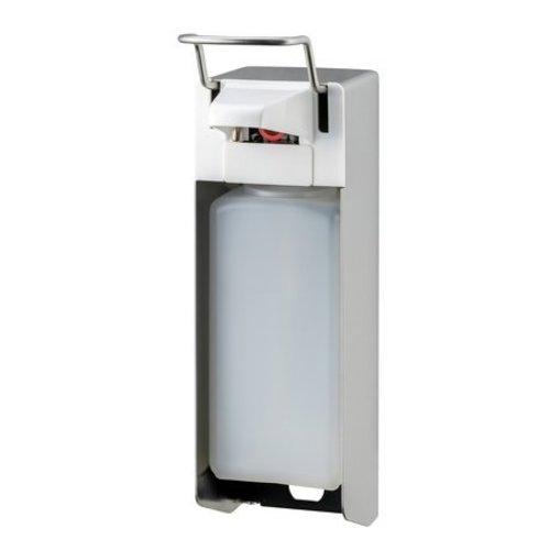 MediQo-Line Savon et distributeur de dŽsinfectant 1000 KB ml en acier inoxydable