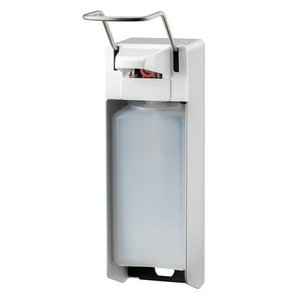 MediQo-Line Soap & disinfectant dispenser 1000 ml LB aluminum