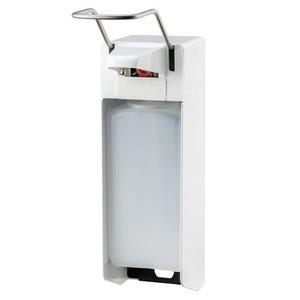 MediQo-Line Tvål och desinfektionsmedel dispenser 1000 ml LB-vit