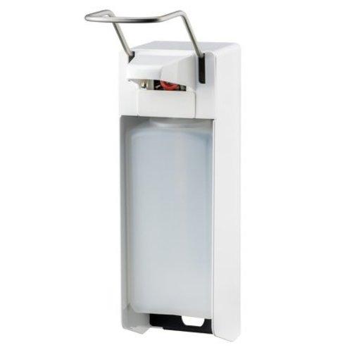 MediQo-Line Savon et distributeur de dŽsinfectant 1000 ml blanc LB