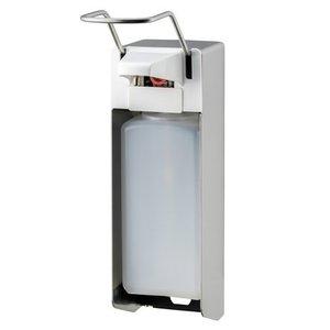 MediQo-Line Sæbe og desinfektionsmiddel dispenser 1000 ml LB rustfrit stål