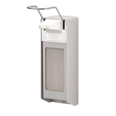 MediQo-Line Distributeur de savon Garage 1000 ml d'aluminium
