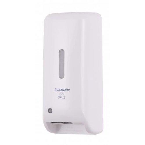 MediQo-Line Distributeur de savon en mousse automatique de blanc en plastique