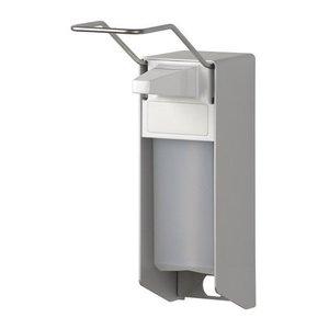 MediQo-Line Tvål och desinfektionsmedel dispenser 500 ml LB aluminium - ingo-man version