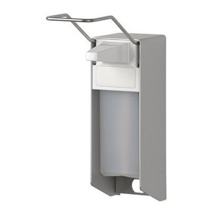 MediQo-Line Sæbe & desinfektionsmiddel dispenser 1000 ml LB aluminium - ingo-man-version