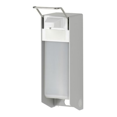 MediQo-Line Sæbe & desinfektionsmiddel dispenser 500 ml KB aluminium - ingo-man-version
