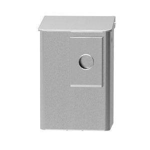 MediQo-Line Hygienisk bricka 6 liter rostfri stål