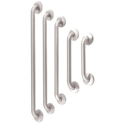 MediQo-Line Grab bar stainless steel straight 387 mm