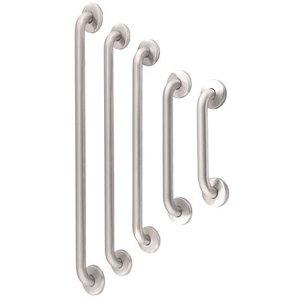 MediQo-Line Barre d'appui droite en acier inoxydable 610 mm