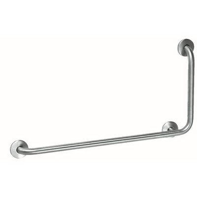 MediQo-Line Grab bar stainless steel with 90?angle to the right