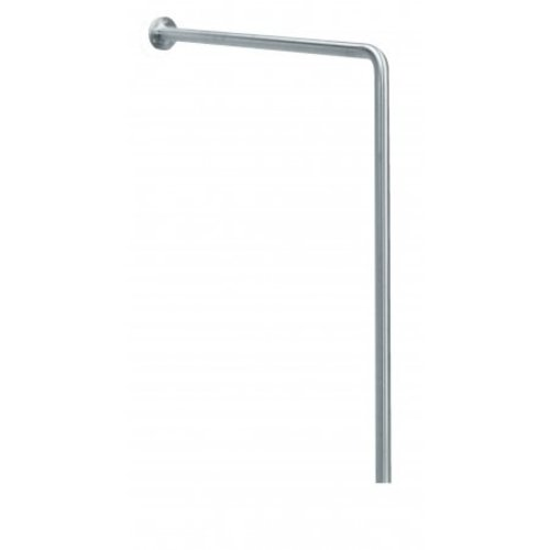 MediQo-Line Wall -> floor handle stainless steel