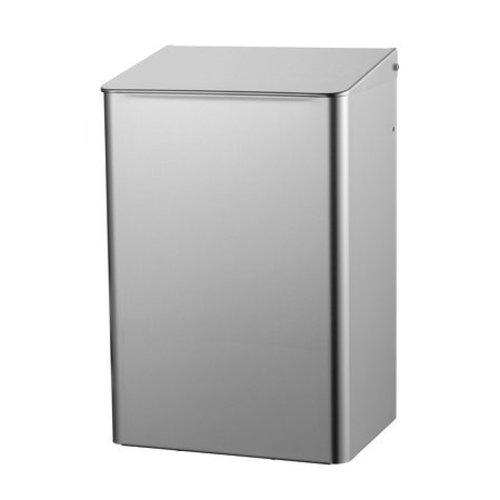 MediQo-Line Waste bin 15 liters stainless steel