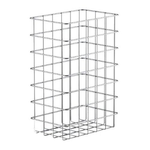 MediQo-Line Wastable korg av rostfritt stål 25 liter