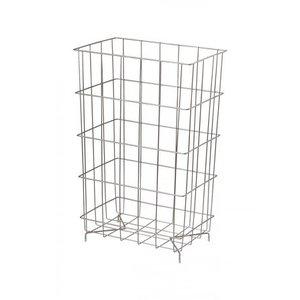 MediQo-Line Waste basket stainless steel 60 liters