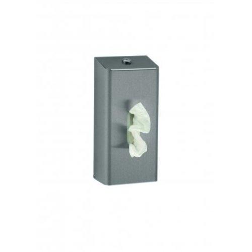 MediQo-Line Tissue dispenser stainless steel