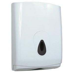 PlastiQline Handduk dispenser midi plast stor