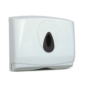 PlastiQline Handduk dispenser midi plast liten