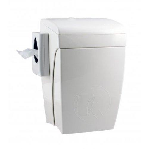 PlastiQline Hygien bricka med knä drift 8 liter